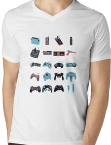 Gaming Legacy Mens V-Neck T-Shirt