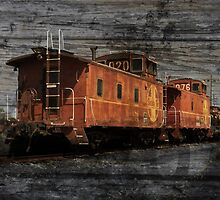 Dual Cabooses by Robert Ball