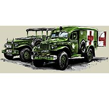 Dodge WC54 and WC51 Photographic Print