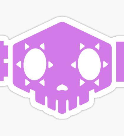 Sombra - BOOP (Purple) Sticker