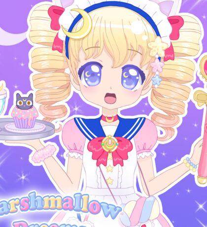 Magical Girl Mallow-chan range! Sticker