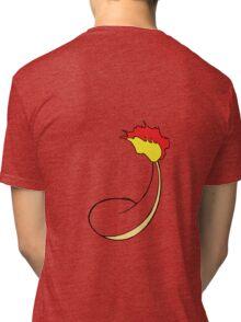 Charmander Back Tri-blend T-Shirt