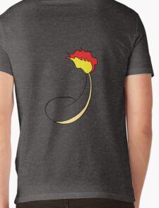 Charmander Back Mens V-Neck T-Shirt