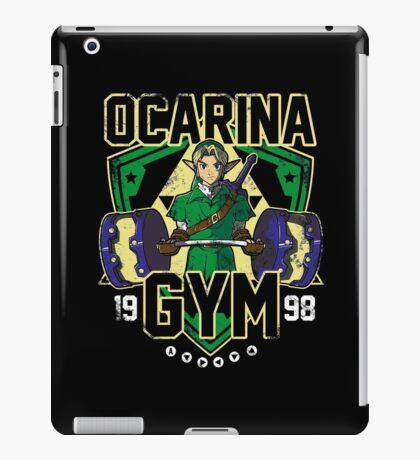 Ocarina Gym iPad Case/Skin