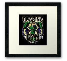 Ocarina Gym Framed Print