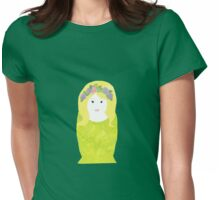 Hippy Nesting Doll Womens Fitted T-Shirt