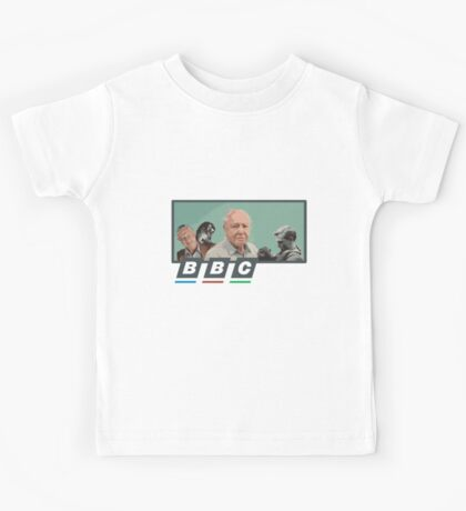 I love Sir David Attenborough Kids Tee