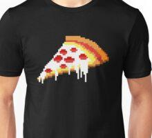 Retro 8 bit pizza Unisex T-Shirt
