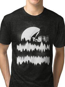 Forest Wave Tri-blend T-Shirt