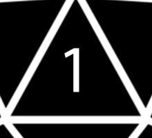 CRIT Happens (Black) Sticker