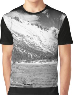Mills Lake Monochrome Graphic T-Shirt