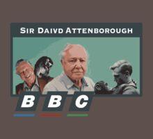 I love Sir David Attenborough 2 Baby Tee