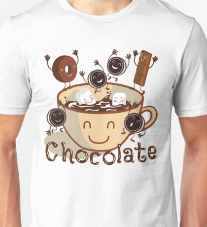 Hot chocolate fun Unisex T-Shirt