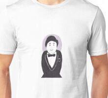 Smart Tuxedo Stacking Doll Unisex T-Shirt