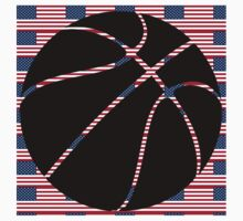 Basketball World Cup 2014 USA champions by JoAnnFineArt