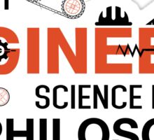 Without Engineers Sticker