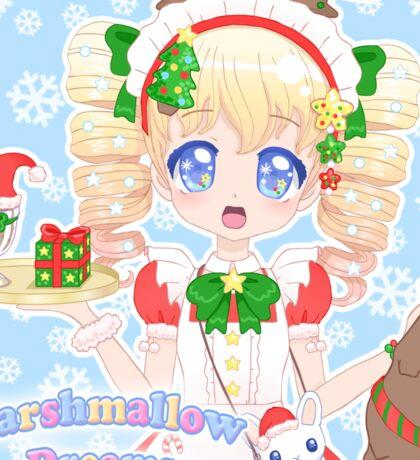Festive Mallow-chan range! Sticker