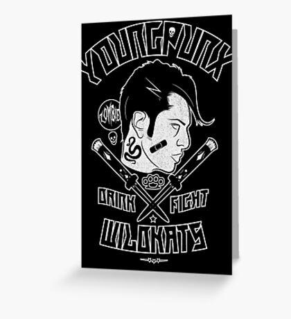 Young Punx / Wildkats Greeting Card