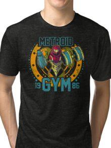 Metroid Gym Tri-blend T-Shirt