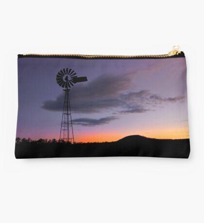 Country Sundown - Gatton Qld Australia Studio Pouch