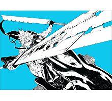 Cloud Manga Photographic Print