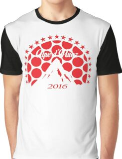 Alpe d'Huez 2016 (Red Polka Dot) Graphic T-Shirt