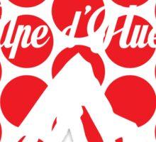 Alpe d'Huez 2016 (Red Polka Dot) Sticker