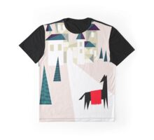 The horse and his castle Graphic T-Shirt