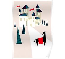 The horse and his castle Poster