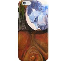Drawing Down the Man in the Moon iPhone Case/Skin