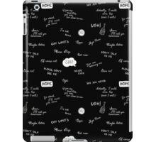 The Asocial Pattern iPad Case/Skin