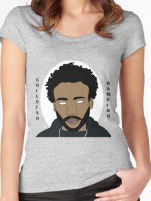 """""""Awaken, My Love!"""" Childish Gambino Women's Fitted Scoop T-Shirt"""