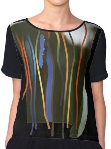 Tendrils and thorns Chiffon Top