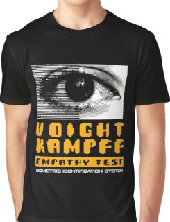 Blade Runner Voight Kampff Empathy Test Graphic T-Shirt