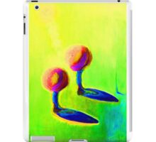 Abstract fantasy painting in vibrant hot colours iPad Case/Skin