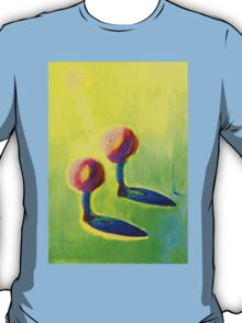 Abstract fantasy painting in vibrant hot colours T-Shirt