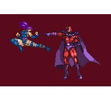 X-Men: Mutant Apocalypse - Psylocke vs Magneto Photographic Print
