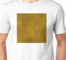 Mermaid Scales - Gold Unisex T-Shirt