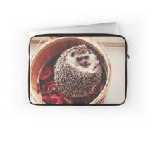 Hedgehog Flowers Laptop Sleeve