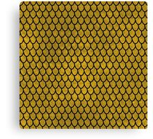 Mermaid Scales - Gold II Canvas Print
