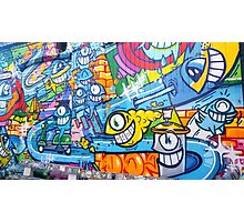 Colorful Graffitti  Photographic Print