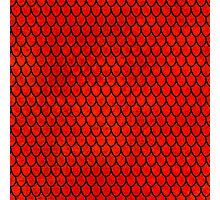 Mermaid Scales - Red Photographic Print