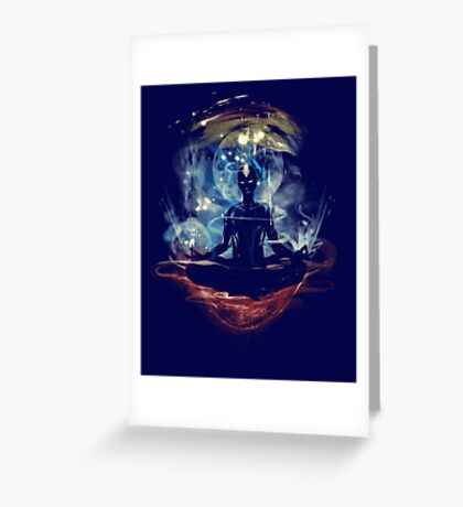 the last space bender Greeting Card