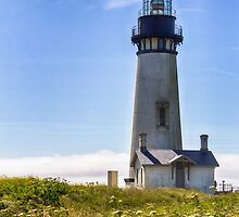 Yaquina Head Lighthouse by yellocoyote