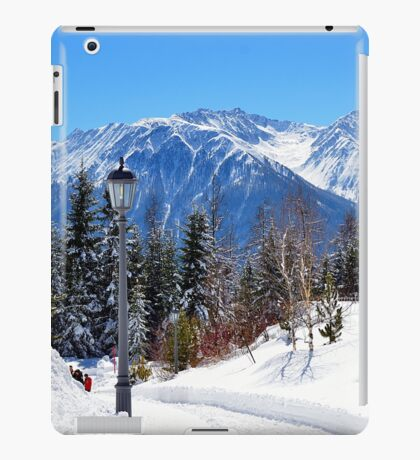 View at Stubai Alps Range, Tyrol, Austria iPad Case/Skin