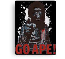 Go Ape Canvas Print