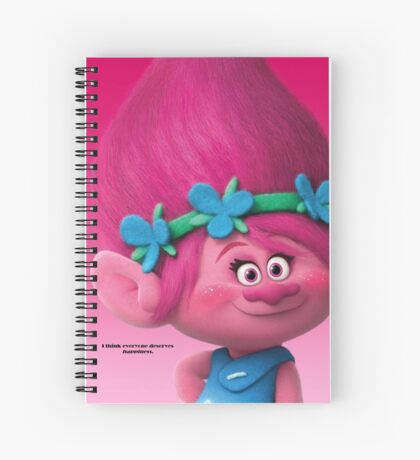 Poppy--Trolls Movie Spiral Notebook