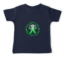 Pain Into Power - Green Baby Tee
