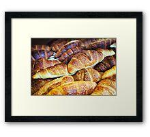 Croissants Framed Print