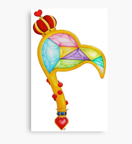 Scepter of the Queen of Heart Canvas Print